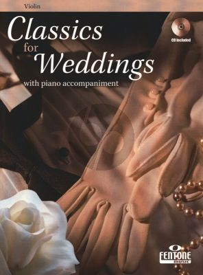 Classics for Weddings for Violin and Piano (Bk-Cd) (CD with Demo and Play-Along Version)
