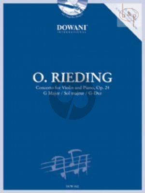 Concerto Op.24 G-major (Violin-Piano) (Bk-Cd) (Dowani) (interm.)
