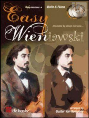 Easy Wieniawski (Violin-Piano) (Bk-Cd) (Pos.1 - 4) (arr. G.Van Rompaey)