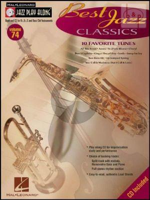 Best Jazz Classics (Jazz Play-Along Series Vol.74