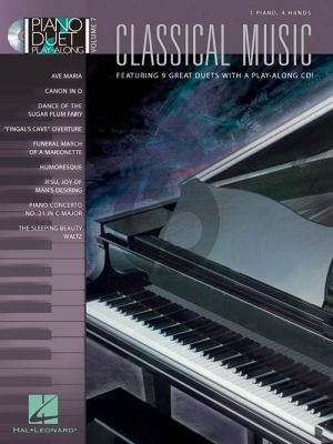 Classical Music Piano Duet Play-Along Series Vol.7 (Bk-Cd)