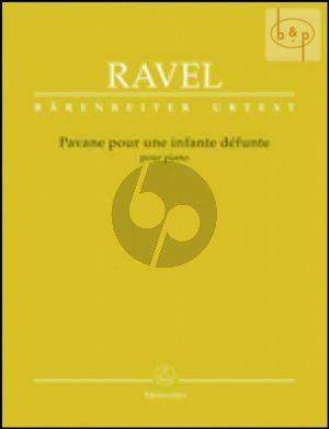 Pavane pour une infante defunte (Small Orch.) (Full Score)