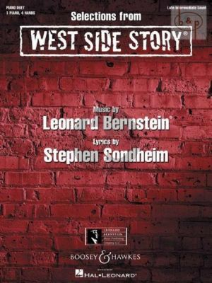 West Side Story (Selections) (Piano 4 hds)