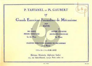 17 Grands Etudes Journaliers et de Mecanisme Flute