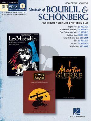 Musicals of Boubil and Schoneberg