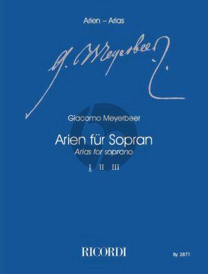 Meyerbeer Arien für Sopran Vol.1 (Klaus Tasdorf)