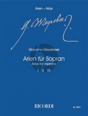Meyerbeer Arien für Sopran Vol.2 (Klaus Tasdorf)