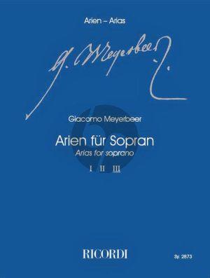 Meyerbeer Arien für Sopran Vol.3 (Klaus Tasdorf)