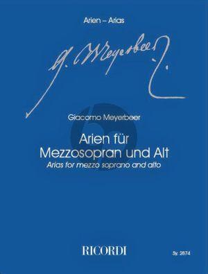 Meyerbeer Arien für Mezzo-Sopr. und Alt (Klaus Tasdorf)