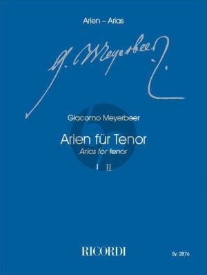 Meyerbeer Arien für Tenor Vol.2 (Klaus Tasdorf)