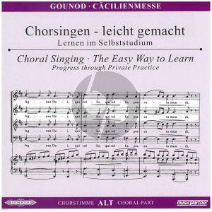 Gounod Messe Solennelle G-dur Alt Chorstimme CD (Chorsingen leicht gemacht)