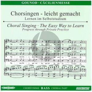 Gounod Messe Solennelle G-dur Bass Chorstimme CD (Chorsingen leicht gemacht)