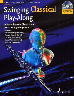 Swinging Classical Play-Along for Clarinet (12 Pieces from the Classical Era in easy Swing arrangements.) (Bk-Cd) (Mark Armstrong)