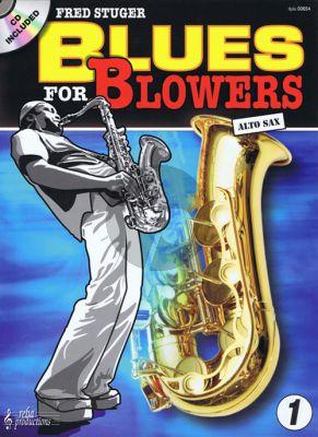 Stuger Blues for Blowers Vol.1 (Alto Sax.) (Bk-Cd)