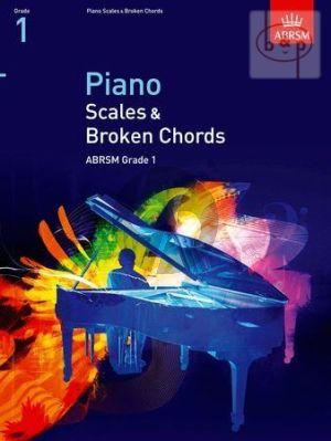 Piano Scales & Broken Chords Grade 1