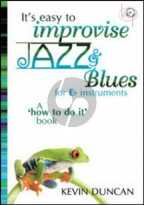 It's Easy to Improvise Jazz & Blues (Eb instr.)