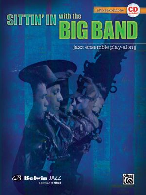 Sittin'in With the Big Band for Alto Saxophone (Bk-Cd)