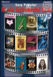 Easy Popular Movie Instrumental Solos (Clarinet)
