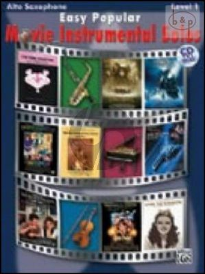 Easy Popular Movie Instrumental Solos (Alto Sax.)