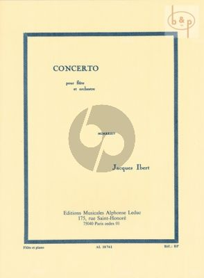 Concert Flute and Orchestra