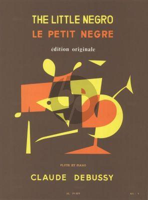 Debussy Le Petit Negre Flute et Piano (Jan Merry)