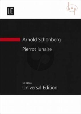 Pierrot Lunaire Op.21 (Narrator and 5 Instrumentalists)