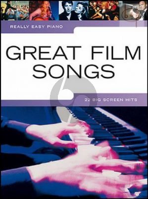 Really Easy Piano Great Film Songs