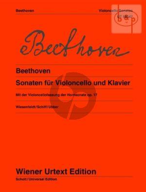 Sonatas Violoncello-Klavier