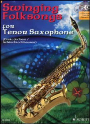 Swinging Folksongs (Tenor Sax.) (Bk-Cd)