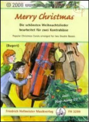 Merry Christmas (2 Double Basses) (Bk-Cd)