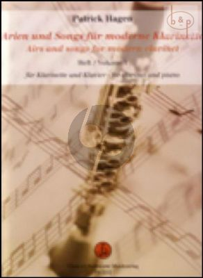 Airs & Songs for modern Clarinet Vol.1
