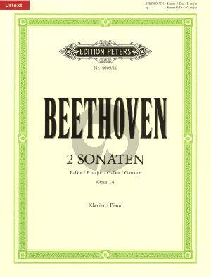 Beethoven 2 Sonatas Op.14 (E-major & G-major)