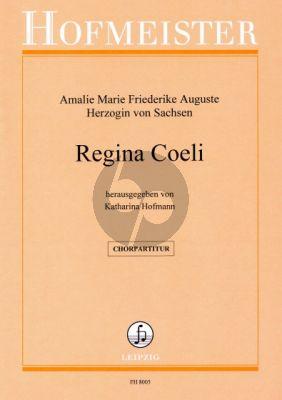 Amalie Regina Coeli SATB und Orchester Chorpartitur (Katharina Hofmann)
