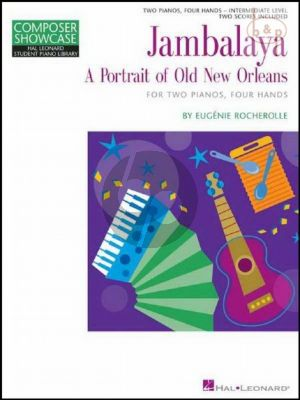 Jambalaya (Portrait of Old New Orleans) (2 Piano's 4 Hds)