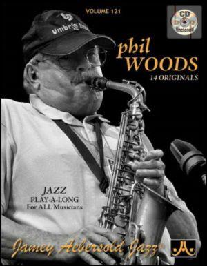 Jazz Improvisation Vol.121 Phil Woods, 14 Originals