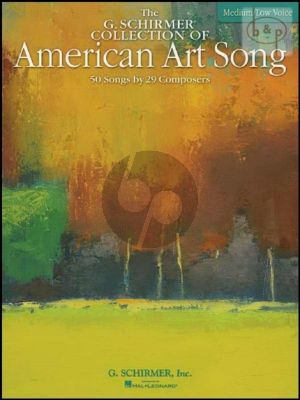 Collection of American Art Song (Medium Low Voice)