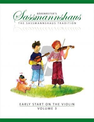 Sassmannshaus Early Start on the Violin Vol.3 (engl.)