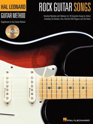 Rock Guitar Songs (Hal Leonard Guitar Method)