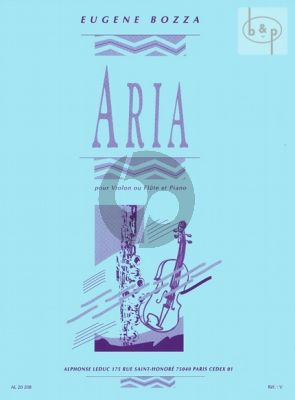 Aria for Violin and Piano