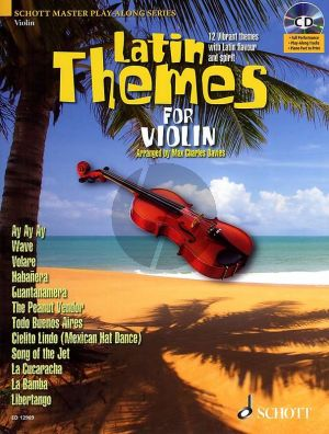 Latin Themes for Violin (12 Vibrant Themes)