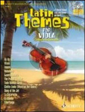 Latin Themes (12 Vibrant Themes) (Viola) (Bk-Cd)