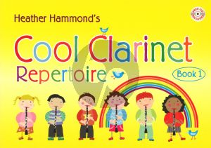 Hammond Cool Clarinet Repertoire Vol.1 (1 - 3 Clar.) Bk-Cd (Elementary grade)