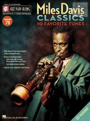 10 Favorite Tunes (Jazz Play-Along Series Vol.79)