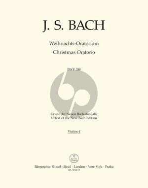 Weihnachts Oratorium BWV 248 Soli-Chor-Orch. Violine 1