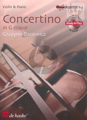Concertino G-major (Violin-Piano)