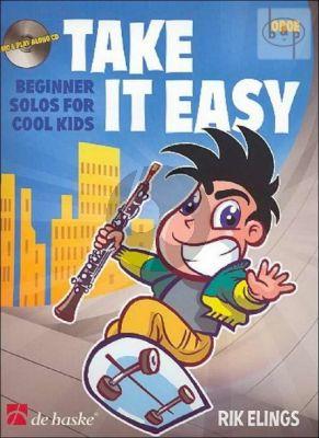 Take it Easy (Beginner Solos for Cool Kids) (Oboe-Piano) (Bk-Cd)