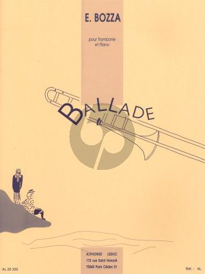 Bozza Ballade Trombone-Piano