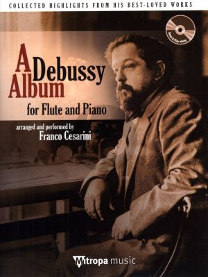 A Debussy Album Flute and Piano (Bk-Cd)