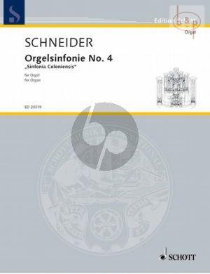 Orgelsinfonie No.4 Sinfonia Coloniensis