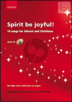 Spirit be Joyful! (14 Songs for Advent and Christmas) (High Voice-Piano[Organ])